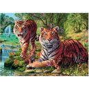 Dino Puzzle Secret Collection Tygři 1000 dílků 2