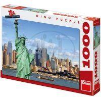 Dino Puzzle Socha Svobody 1000 dílků
