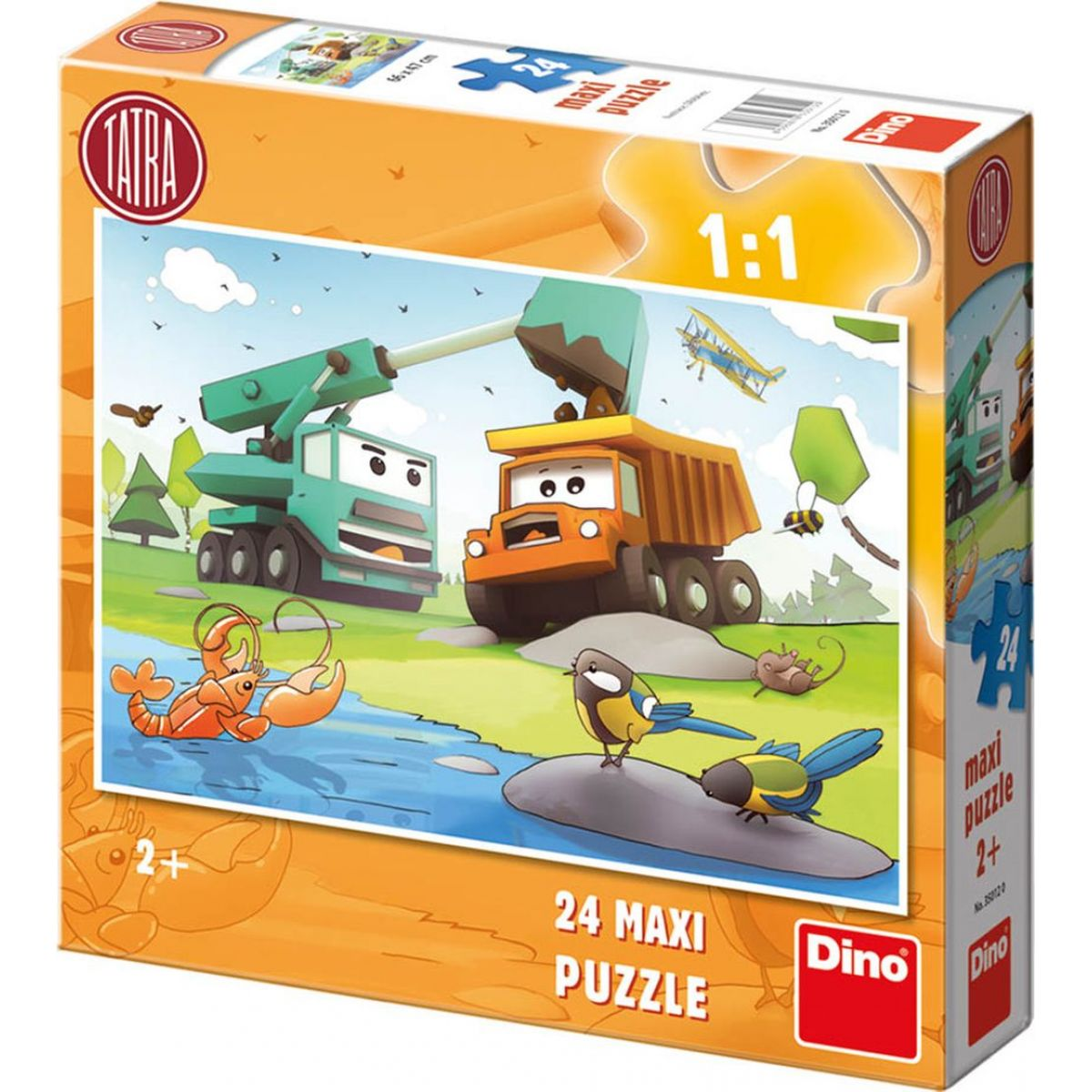Dino Puzzle Tatra 24 Maxi dílků