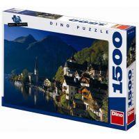 Dino Puzzle Vesnička u jezera 1500 dílků