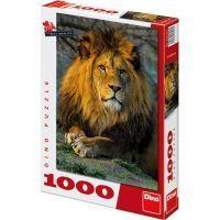Dino Puzzle Zamyšlený lev 1000 dílků