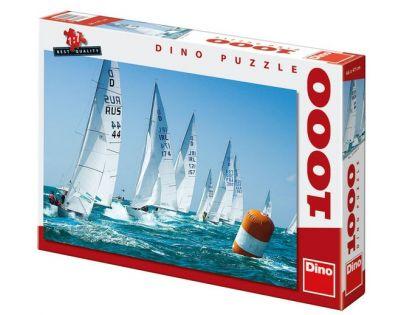 Dino Puzzle Závodní plachetnice 1000 dílků
