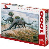 Dino Puzzle Zdeněk Burian: Diplodocus 1000 dílků