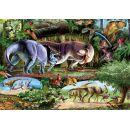 Dino Puzzle Země dinosaurů 500 dílků 2