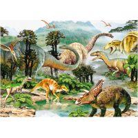 Dino Puzzle Život dinosaurů 100 XL dílků 2