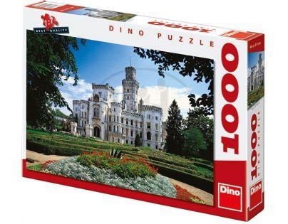 Dino Puzzle Zámek Hluboká 1000d