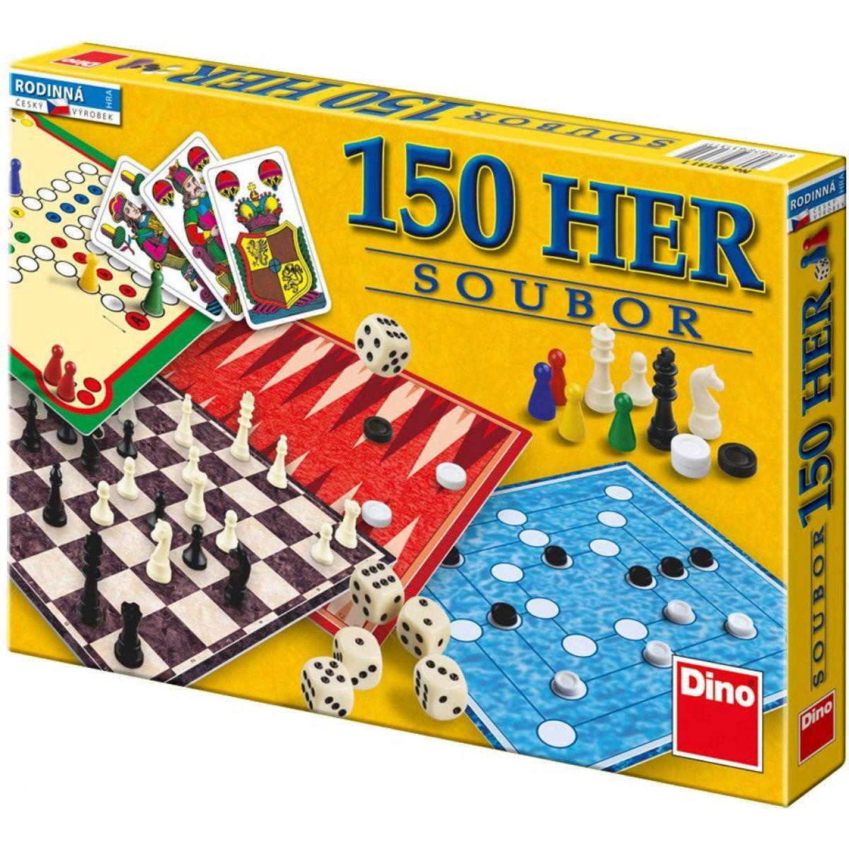 DINO Soubor her  (150 her v krabici)
