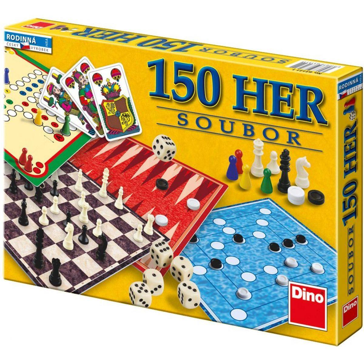 DINO 631311 - Soubor her (150 her v krabici)