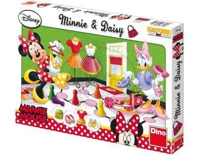 DINO 623392 - Minnie a Daisy společenská hra