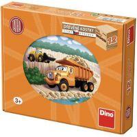 Dino Tatra dřevěné kostky 12 dílků
