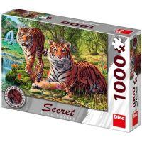 Dino Tygři secret collection puzzle 1000 dílků