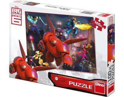 Dino Velká Šestka Puzzle Big Hero 6 100 XL dílků