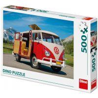 Dino VW Camper Van puzzle 500 dílků