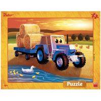 Dino Puzzle deskové Zetor Žně 40 dílků
