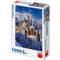 Dino Zimní Neuschwanstein puzzle 1000 dílků