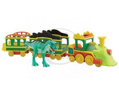 T-Rex Express 53010 - Svítící T-Rex Express se zvuky a Laurou