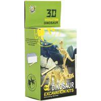 Dinosaurus 3D skládačka Zkamenělina v krabičce