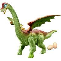 Rappa Dinosaurus chodí a klade vejce se zvukem zelený