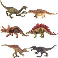 Dinosaurus plastový 15-16 cm 6ks