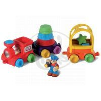 Little Tikes 626609 - DiscoverSounds® Vláček barvy a tvary