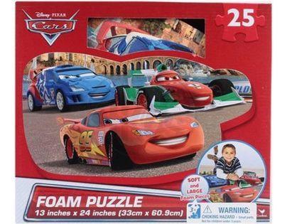 Disney Cars Puzzle pěnové 25 dílků