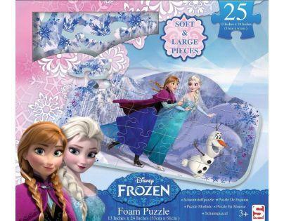 Disney Frozen Ledové království Puzzle pěnové 25 dílků