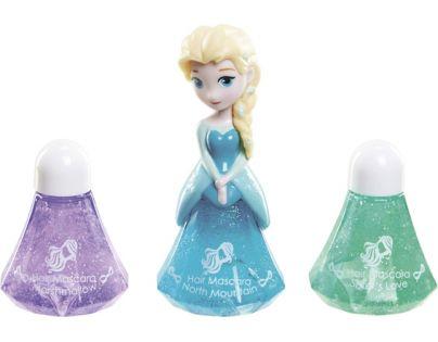 Disney Frozen Little Kingdom Make up pro princezny - Elsa modrá a řasenky na vlasy