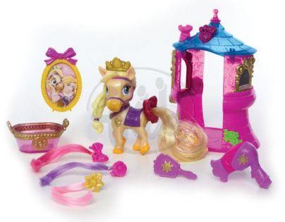 Disney Palace Pets Mazlíčci s huňatým třpytivým ocasem a doplňky - Blondie
