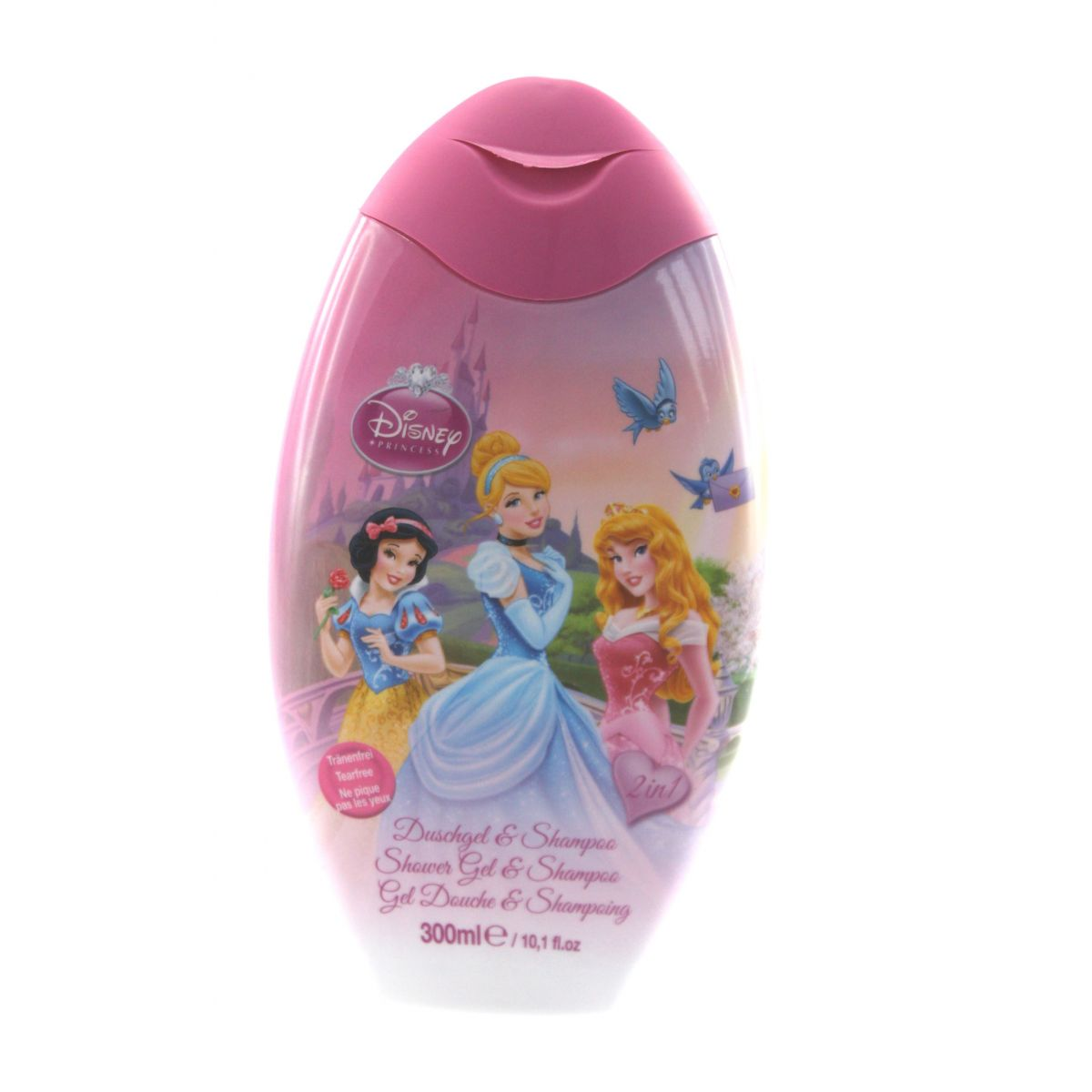 Disney Princess Šampón a sprchový gel 2v1 300 ml