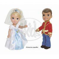 Disney Princezna a princ 15 cm