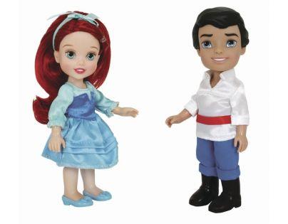ADC Blackfire Disney Princezna a Princ 15cm - Ariel, princ Eric