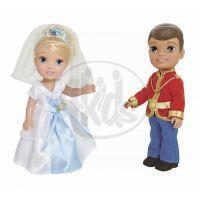 ADC Blackfire Disney Princezna a Princ 15cm - Popelka, okouzlující princ