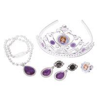 Black Fire Disney Princezna Sofie První Set s korunkou a šperky