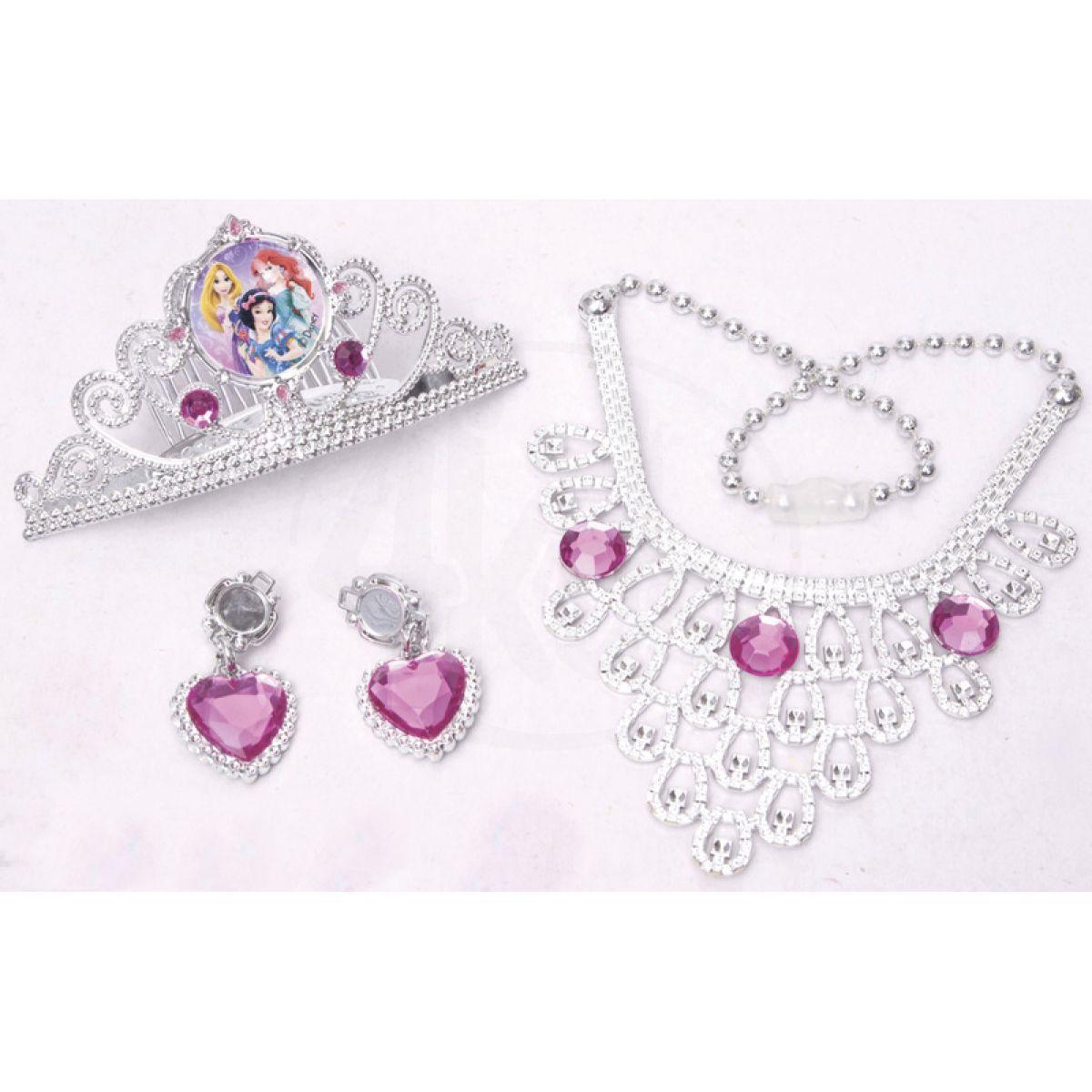 Disney princezny Set s korunkou a šperky pro princeznu a87167f13f