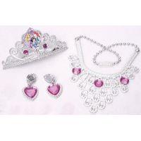 Disney princezny Set s korunkou a šperky pro princeznu