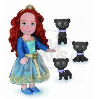 Jakks Disney Princess Rebelka Merida 36 cm S medvědími bratry