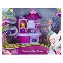 ADC Blackfire Disney Víly 11 cm panenka a velký hrací set - Víla Modrovločka s kuchyňským setem 3