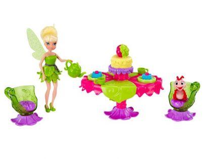 ADC Blackfire Disney Víly 11 cm panenka a velký hrací set - Víla Zvonilka s párty setem
