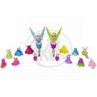 Disney Víly: 11 cm panenka a modní doplňky 2v1 - Zvonilka a Modrovločka 2