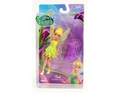 ADC Blackfire Disney Víly 11cm základní panenka s modními doplňky - Zvonilka