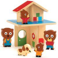 DJECO Domeček pro medvídky