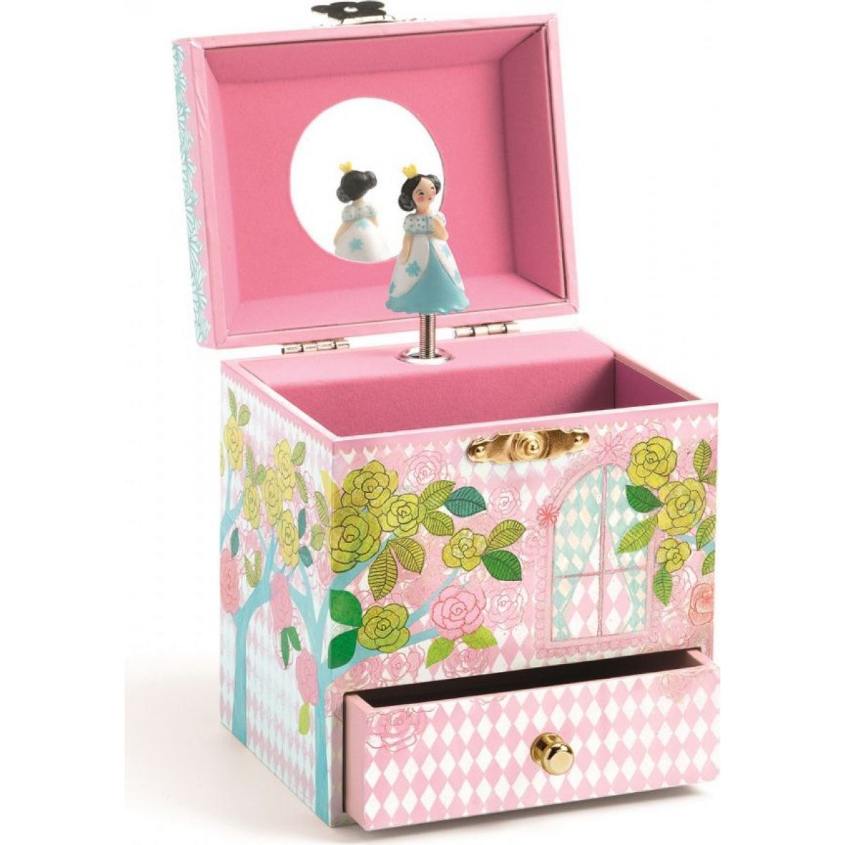 Djeco Hrací skříňka Princezna