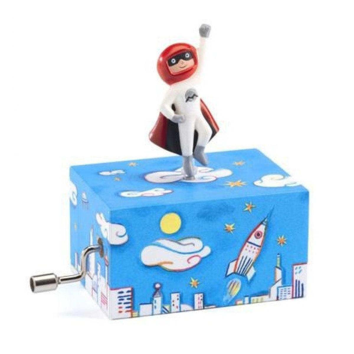 Djeco Hrací skříňka superhrdina Djeco