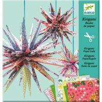 Djeco Kirigami Papírové hvězdy