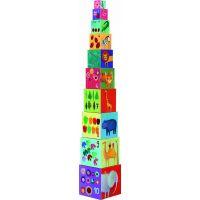 Djeco Krabičková věž Příroda a zvířátka
