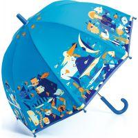 Djeco Krásný designový deštník Mořský svět