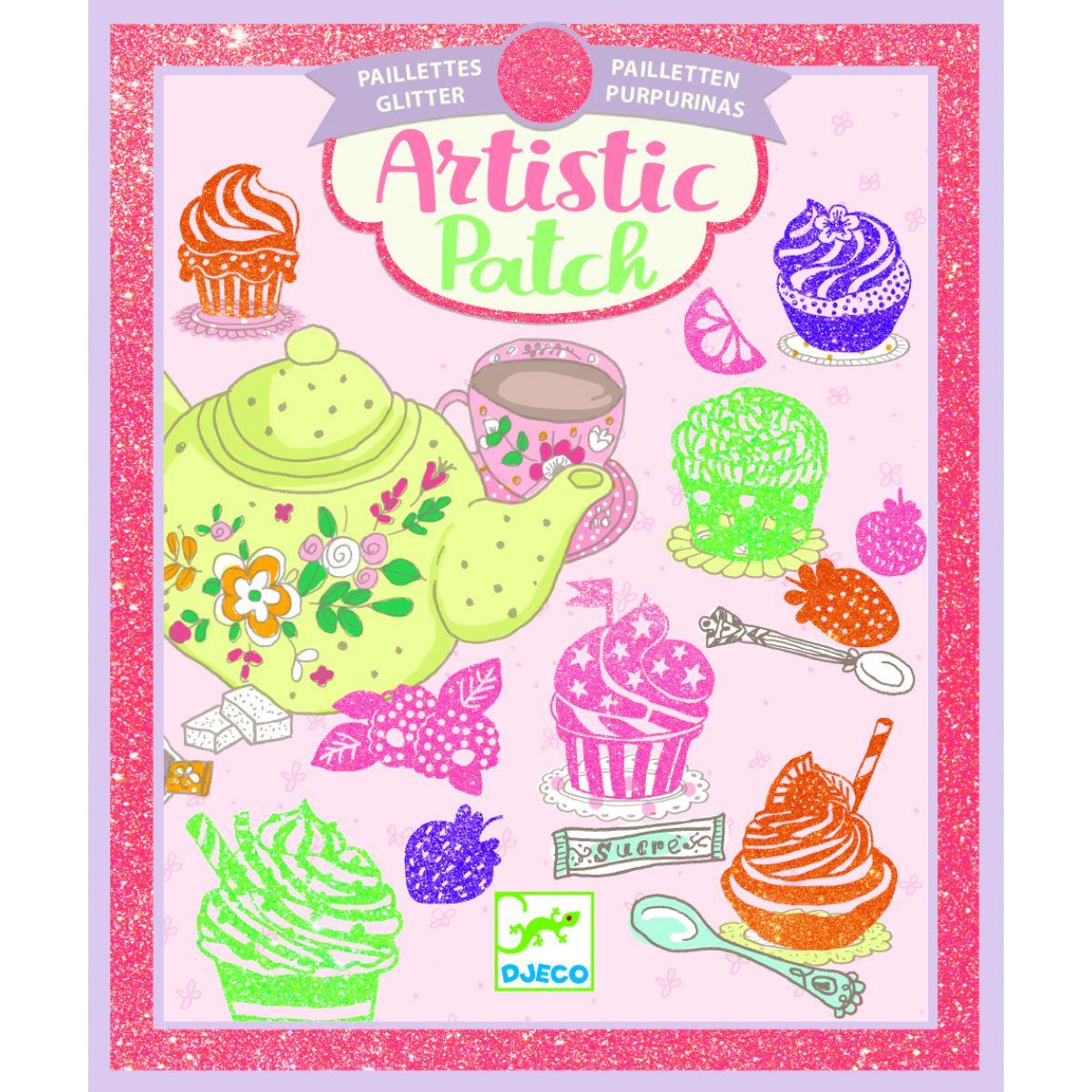 Djeco Magické obrázky V cukrárně třpytky