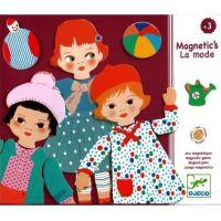 Djeco Magnetky oblékání holčičky