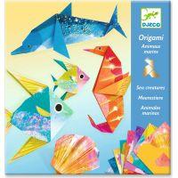 Djeco Origami metalické Pod vodou