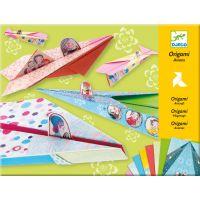 Djeco Origami skládačka letadla dívčí